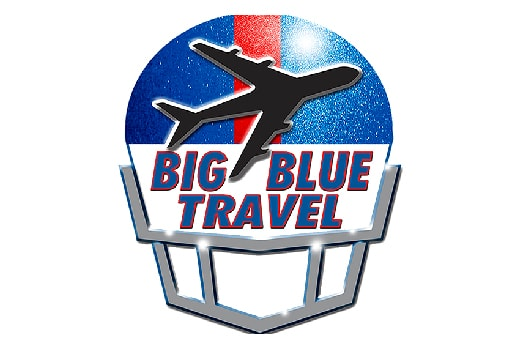 The logo and link to one of our partners Big Blue Travel. Click here to visit their site